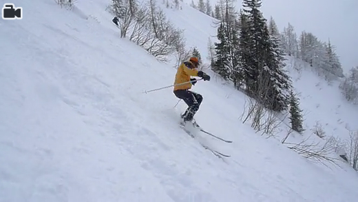 Snowboarding in Chamonix